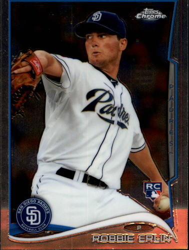 Photo of 2014 Topps Chrome #77 Robbie Erlin RC