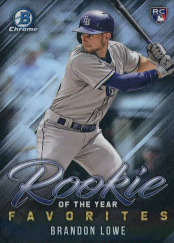 Photo of 2019 Bowman Chrome Rookie of the Year Favorites #ROYF2 Brandon Lowe