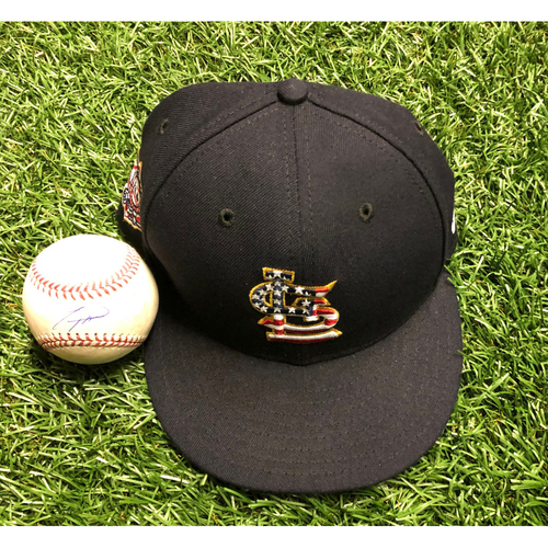 Photo of National Keratoconus Foundation Auction: Tommy Pham Autographed Cap and Autographed Game Used Baseball