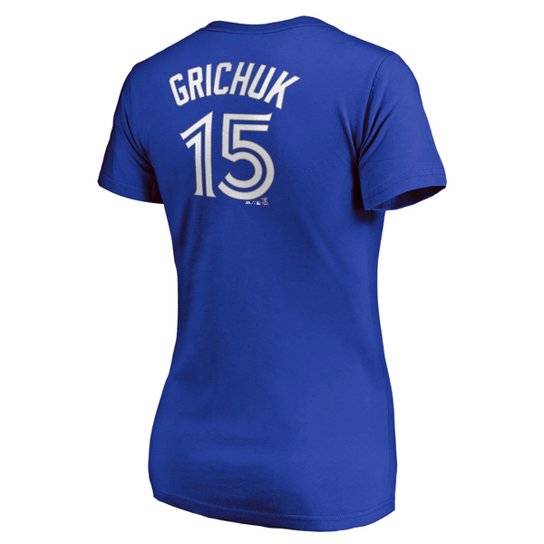 Toronto Blue Jays Women's Randal Grichuk Player T-Shirt by Majestic