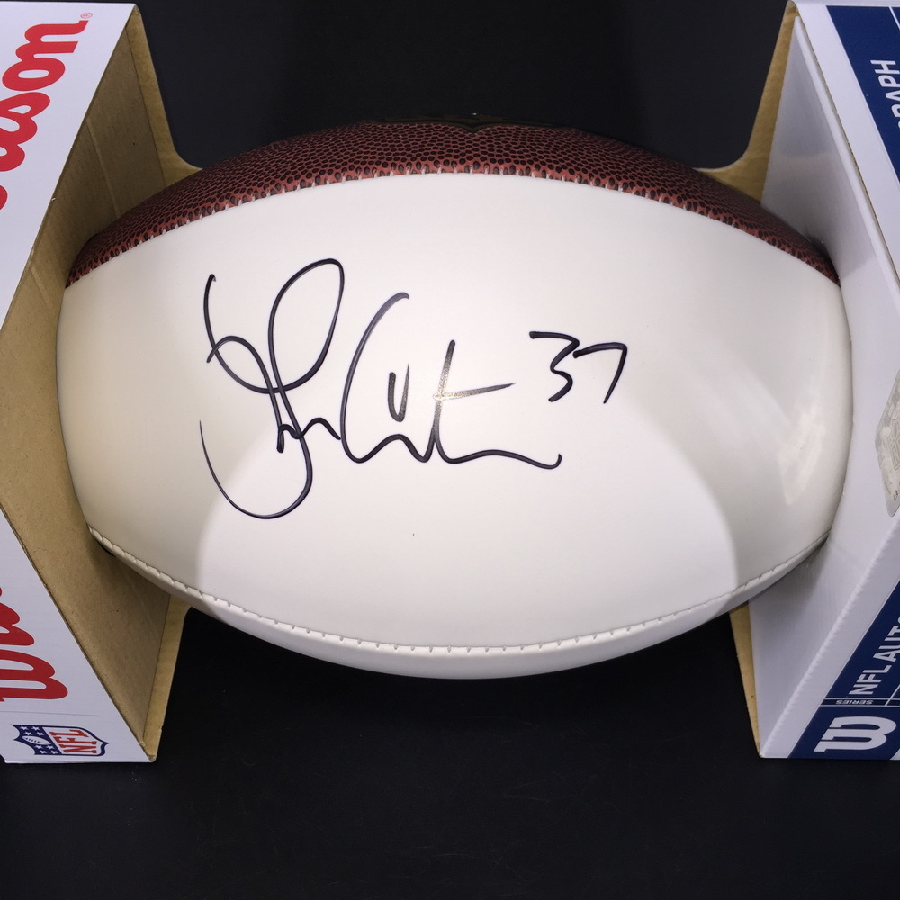 NFL - Cardinals Larry Centers Signed Panel Ball