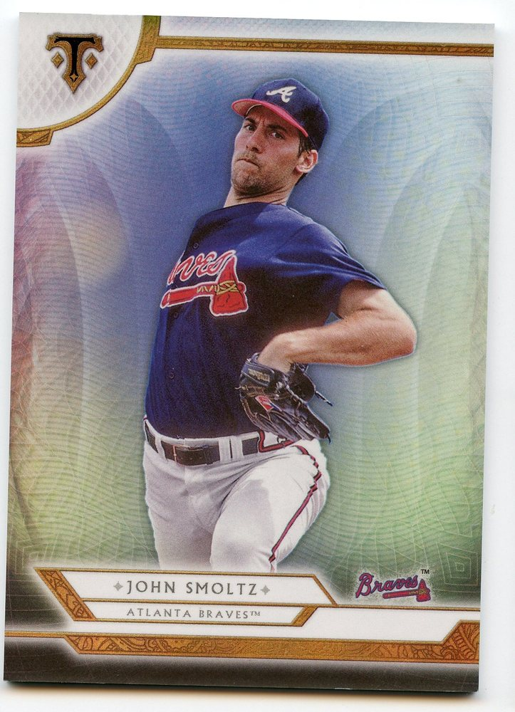 2018 Topps Triple Threads #100 John Smoltz
