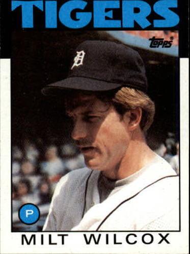 Photo of 1986 Topps #192 Milt Wilcox