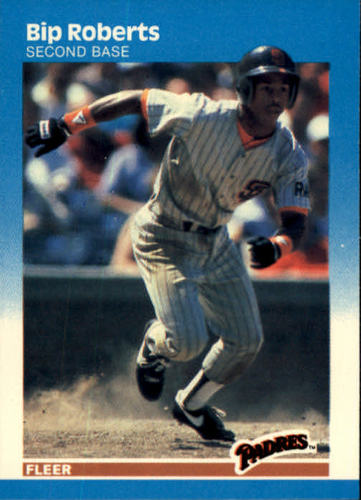 Photo of 1987 Fleer #427 Bip Roberts RC