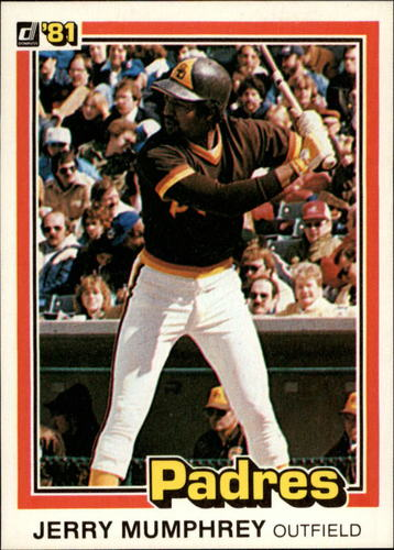 Photo of 1981 Donruss #124 Jerry Mumphrey