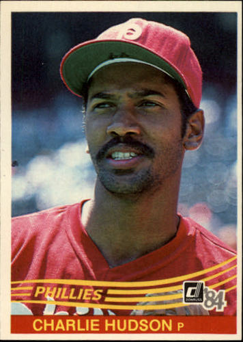 Photo of 1984 Donruss #448 Charles Hudson