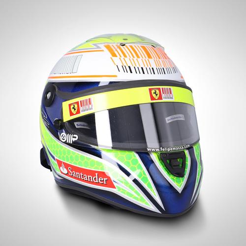 Photo of Felipe Massa 2010 1:1 Replica Helmet