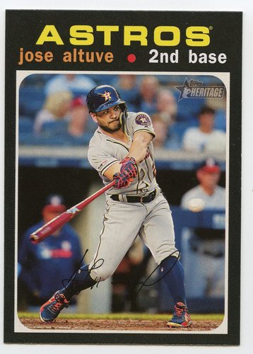 Photo of 2020 Topps Heritage #264 Jose Altuve
