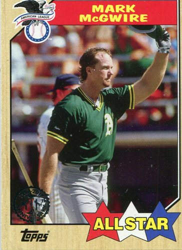 Photo of 2017 Topps '87 Topps #87195 Mark McGwire