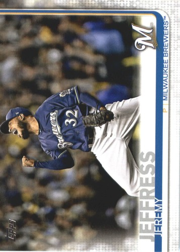 Photo of 2019 Topps #362 Jeremy Jeffress