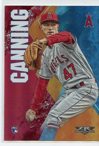 Photo of 2019 Topps Fire Flame #35 Griffin Canning