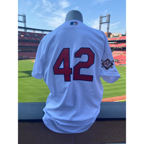 Cardinals Authentics: Team Issued Andrew Knizner Jackie Robinson Day Jersey