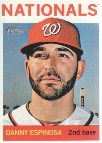 Photo of 2013 Topps Heritage #323 Danny Espinosa