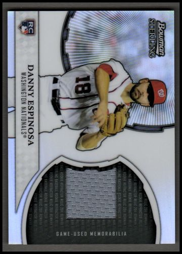Photo of 2011 Bowman Sterling Rookie Relics #DE Danny Espinosa