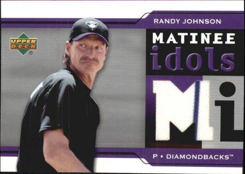 Photo of 2005 Upper Deck Matinee Idols Jersey #RJ Randy Johnson