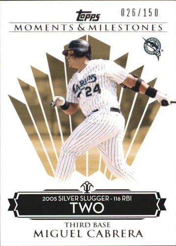 Photo of 2008 Topps Moments and Milestones #138-2 Miguel Cabrera
