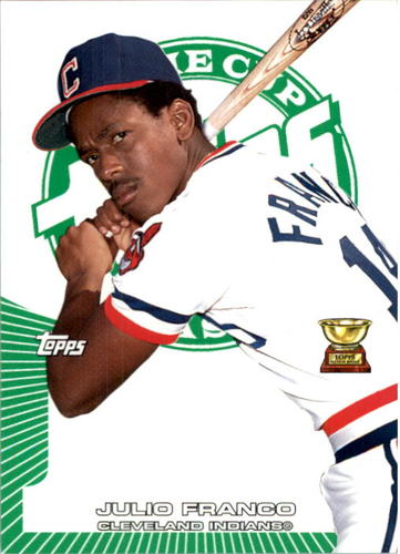 Photo of 2005 Topps Rookie Cup Green #52 Julio Franco
