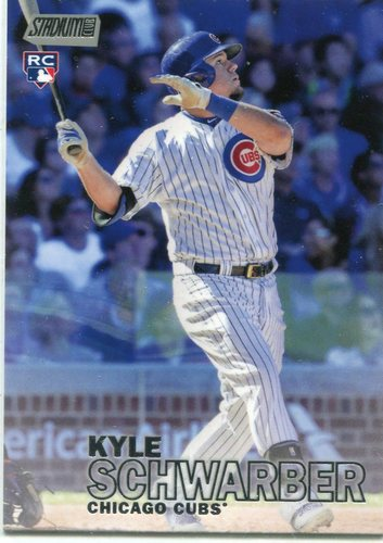 Photo of 2016 Stadium Club #277A Kyle Schwarber Rookie Card