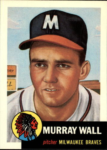 Photo of 1991 Topps Archives 1953 #217 Murray Wall