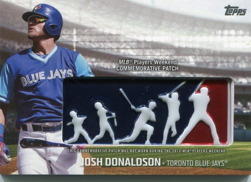 Photo of 2018 Topps Players Weekend Patches #PWPJD Josh Donaldson