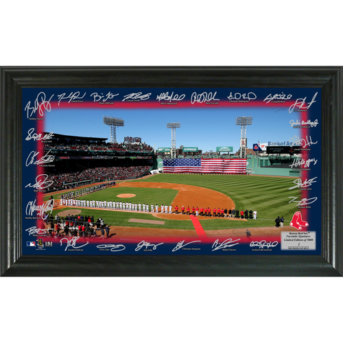 Photo of Boston Red Sox 2018 Signature Field