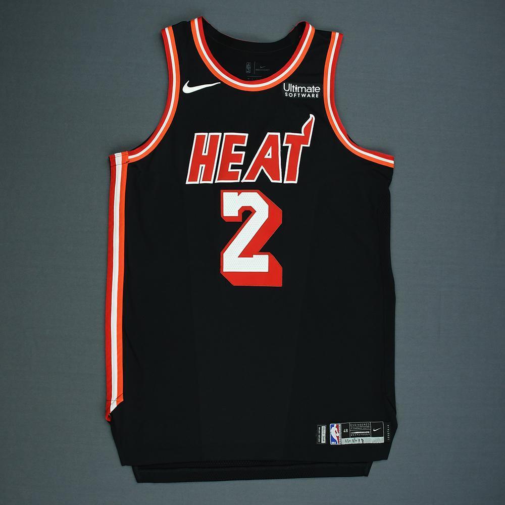 Wayne Ellington - Miami Heat - Game-Worn Classic Edition 1988-99 Road Jersey - 2017-18 Season