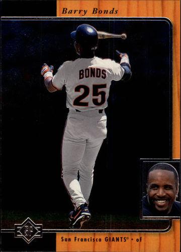 Photo of 1996 SP #166 Barry Bonds