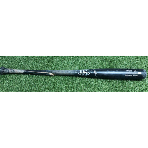 Photo of Austin Hedges Game-Used Broken Bat vs Giants - 7/31/2018