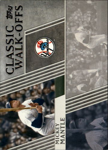Photo of 2012 Topps Classic Walk-Offs #CW7 Mickey Mantle