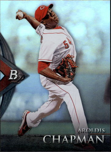 Photo of 2014 Bowman Platinum #63 Aroldis Chapman