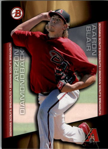 Photo of 2014 Bowman Draft Scouts Breakout #BSBAB Aaron Blair