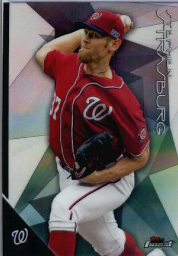 Photo of 2015 Finest #25 Stephen Strasburg