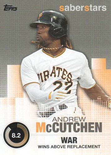 Photo of 2014 Topps Saber Stars #SST4 Andrew McCutchen