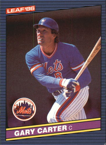 Photo of 1986 Leaf/Donruss #63 Gary Carter