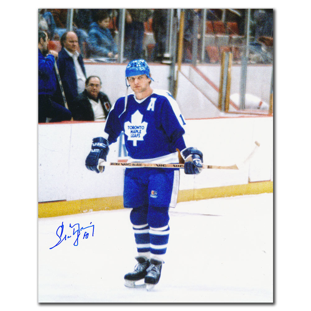 Marian Stastny Toronto Maple Leafs Autographed 8x10