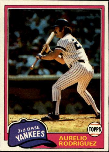 Photo of 1981 Topps #34 Aurelio Rodriguez