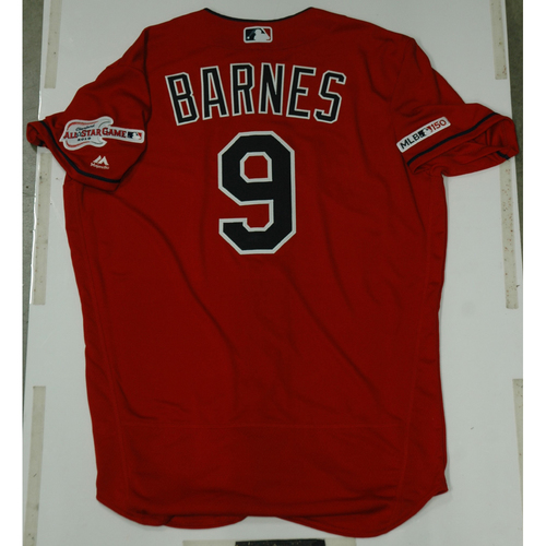 Photo of Brandon Barnes 2019 Team Issued Alternate Home Jersey