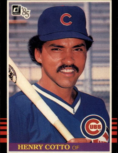 Photo of 1985 Donruss #411 Henry Cotto RC