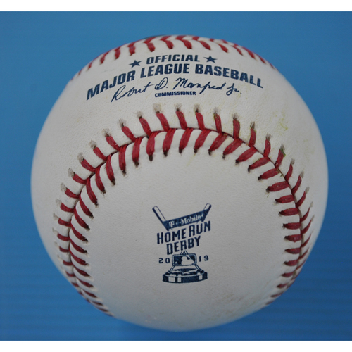 Photo of Game-Used Baseball - 2019 Home Run Derby - Alex Bregman - Round 1 - Out