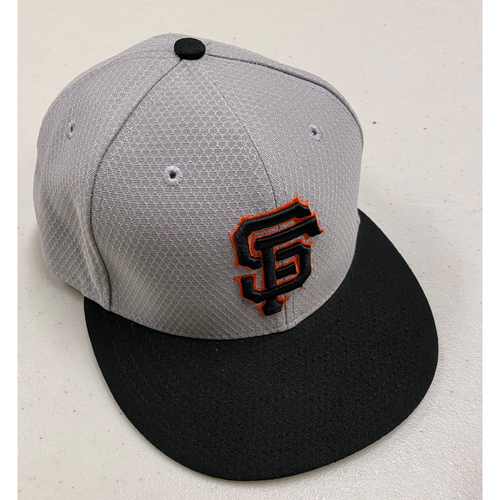 Photo of 2019 Team Issued Gray Batting Practice Cap - Size 7 1/8