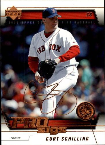 Photo of 2005 Upper Deck Pro Sigs #15 Curt Schilling -- Facsimile autograph