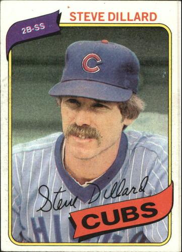 Photo of 1980 Topps #452 Steve Dillard