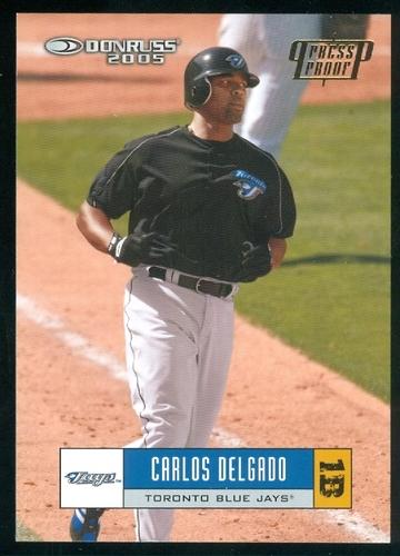 Photo of 2005 Donruss Press Proofs Gold #365 Carlos Delgado