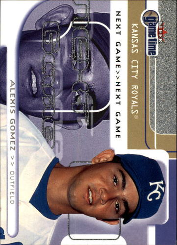 Photo of 2001 Fleer Game Time #119 Alexis Gomez NG RC