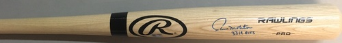 "Photo of Paul Molitor ""3,319 Hits"" Autographed Rawlings Bat"