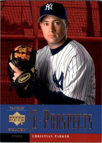 Photo of 2001 Upper Deck Evolution #97 Christian Parker PROS RC
