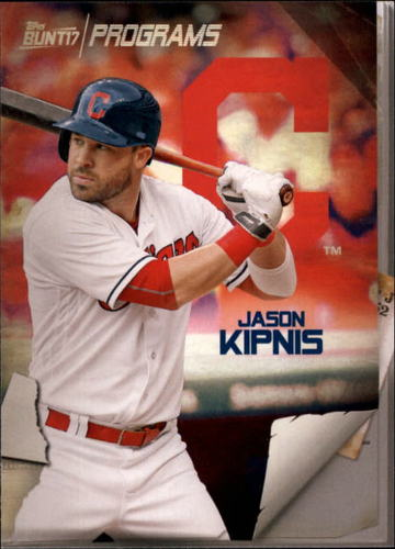 Photo of 2017 Topps Bunt Programs #PRJK Jason Kipnis
