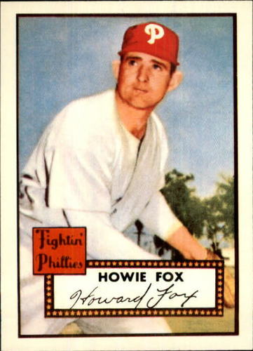 Photo of 1983 Topps 1952 Reprint #209 Howie Fox