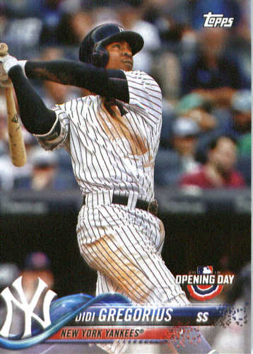 Photo of 2018 Topps Opening Day #175 Didi Gregorius