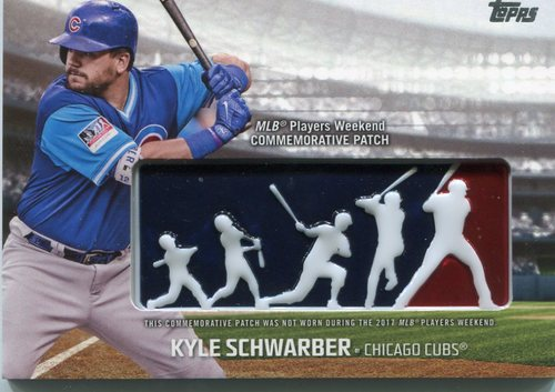 Photo of 2018 Topps Players Weekend Patches #PWPKC Kyle Schwarber